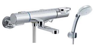 『カード対応OK!』▽INAX LIXIL【BF-WM147TNSCW】クロマーレS シャワーバス水栓 洗い場専用 エコフルスイッチシャワー(メッキ仕様) 寒冷地対応