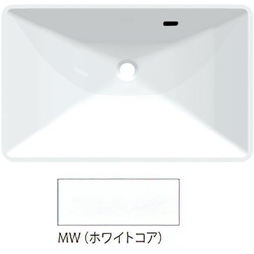 ###三栄水栓/SANEI【HW20-MW】ホワイトコア ボウル一体型洗面カウンター 受注生産