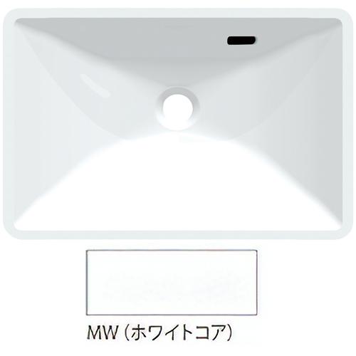 ###三栄水栓/SANEI【HW21-MW】ホワイトコア ボウル一体型手洗カウンター 受注生産