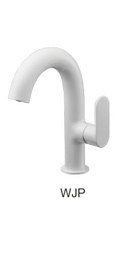 三栄水栓/SANEI【K4781NJV-WJP-13】白錬 シングルワンホール洗面混合栓