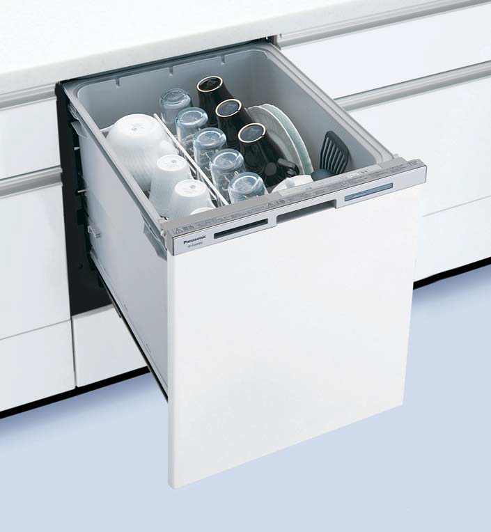 ###パナソニック 食器洗い機 乾燥機【NP-45MD8S】食器洗い乾燥機 M8シリーズ ディープタイプ 幅45cm ドアパネル型