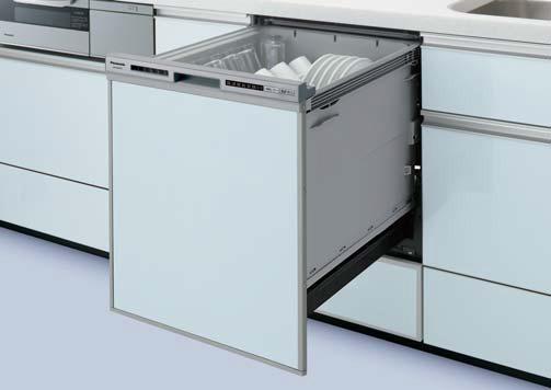 ###パナソニック 食器洗い機 乾燥機【NP-45RD7S】操作部シルバー 食器洗い乾燥機 R7シリーズ ディープタイプ 幅45cm ドアパネル型