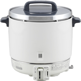 《あす楽》◆15時迄出荷OK!パロマ 業務用ガス炊飯器【PR-403S】6.7合~22.2合 プロパンガス(LPG)