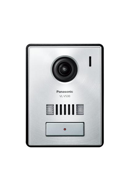 パナソニック ドアホン【VL-V530L-S】カメラ玄関子機 広角レンズ ledライト付 逆光補正付