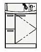 ###クリナップ 洗面化粧台【BNFH752HMCWP】アロマロゼ 引出しタイプ FANCIO(ファンシオ) ハイグレード H85cm 間口75cm