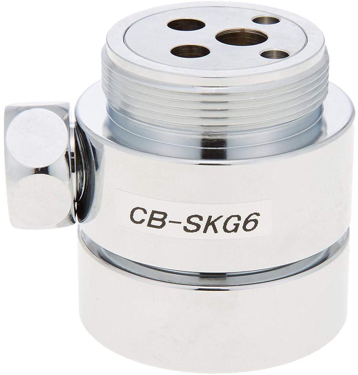 《あす楽》◆15時迄出荷OK!パナソニック 分岐水栓【CB-SKG6】KVK社用