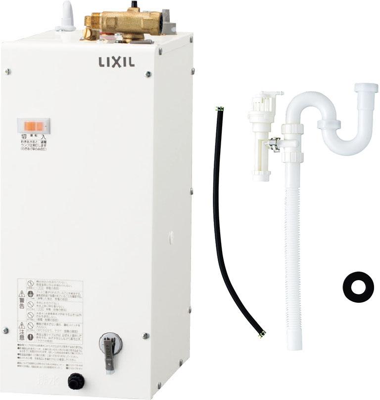 《あす楽》◆15時迄出荷OK!INAX/LIXIL 電気温水器 ゆプラス【EHPK-F6N4】セット品番 コンパクトタイプ キャビネット内設置用(排水管φ32樹脂製) (EHPN-F6N4+EFH-4K)