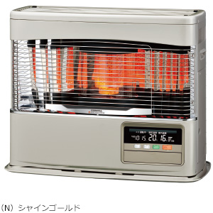 ###コロナ 暖房機器【FF-6818PK(N)】シャインゴールド FF式石油暖房機(輻射型) PKシリーズ 木造18畳 コンクリート24畳