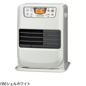 コロナ 暖房機器【FH-M2518Y(W)】パールホワイト 石油ファンヒーター miniシリーズ 木造7畳 コンクリート9畳 (旧品番 FH-M2517Y(W))