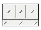 ####クリナップ Tiaris(ティアリス)【M-135PANHF】ミラーキャビネット アンダーミラーパネル 高さ25cm フロストミラーパネル 間口135cm