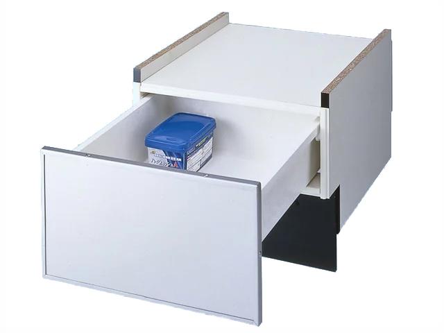 (♀) 《あす楽》『カード対応OK!』◆15時迄出荷OK!パナソニック ビルトイン食器洗い乾燥機部材【N-PC600S】専用収納キャビネット60cmFULLオープン(ドアパネルタイプ専用)シルバー