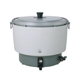 ψパロマ 業務用ガス炊飯器【PR-101DSS】20合~55合 折れ取手付