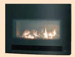 『カード対応OK!』###リンナイ ガス暖炉 【RHFE-750ETR-GB】強制排気FF方式 MIDNIGHT 受注生産