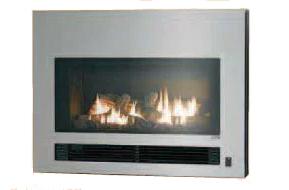 『カード対応OK!』####リンナイ ガス暖炉【RHFE-750ETR-S】強制排気FF方式 SHINE 受注生産90日