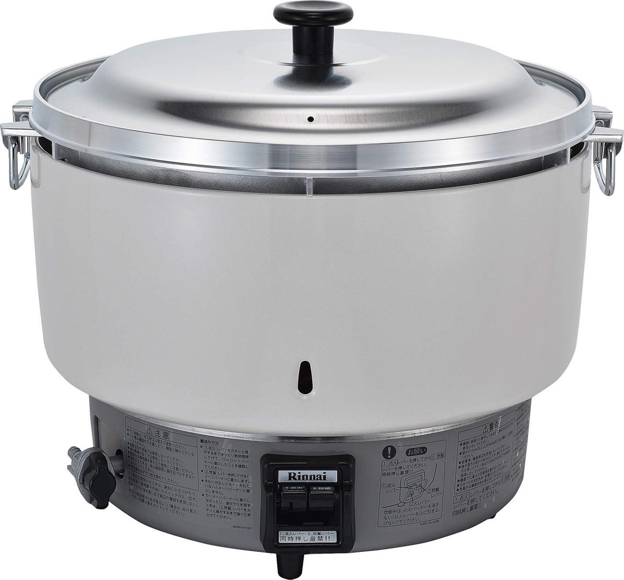 リンナイ ガス炊飯器 【RR-50S1-F】5升 10.0L 卓上型(普及タイプ)(RR50S1F)