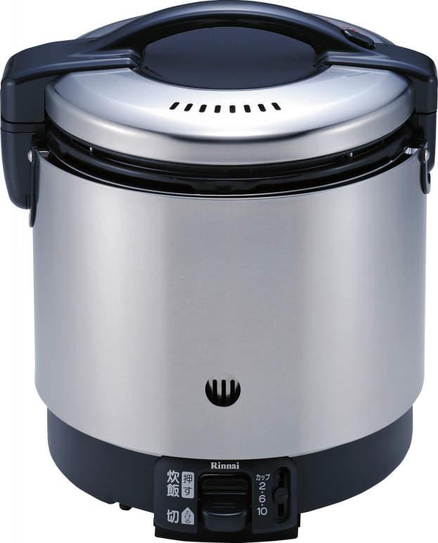 リンナイ ガス炊飯器 【RR-S100GS】1升 1.8L 卓上型(マイコン制御タイプ)(RRS100GS)