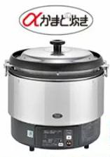 リンナイ ガス炊飯器【RR-S300G】3升 6.0L 卓上型(マイコン制御タイプ) αかまど炊き タイマー付