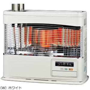 ###コロナ 暖房機器【UH-7718PR(W)】ホワイト 床暖房内蔵ポット式石油暖房機(輻射型) PRシリーズ 木造20畳 コンクリート32畳
