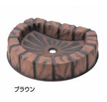 タキロンシーアイ ガーデンパン【290777】ロックパンN 600 ブラウン ナチュラルシリーズ