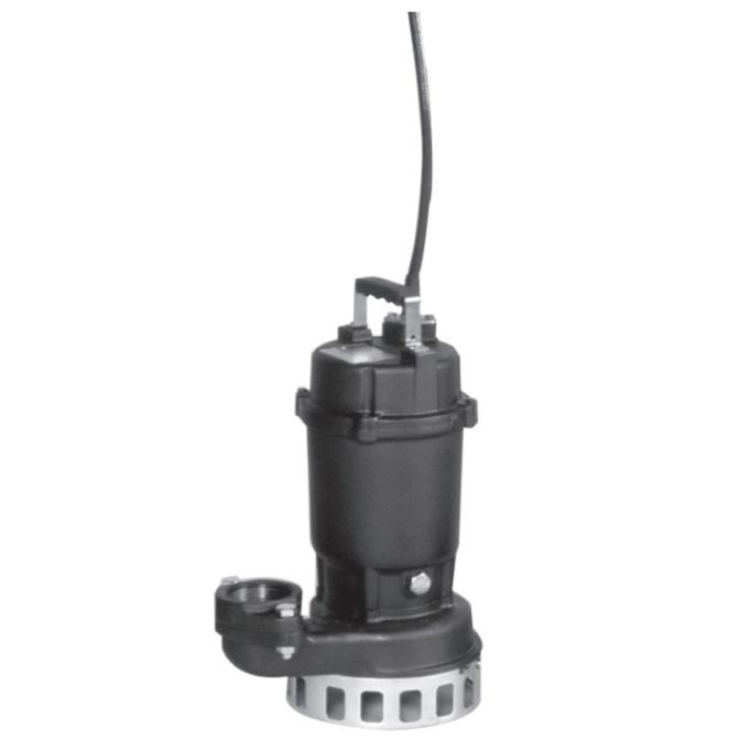エバラ/荏原【40DN6.25S】汚水雑排水用水中ポンプ DN型 非自動型 単相 60Hz