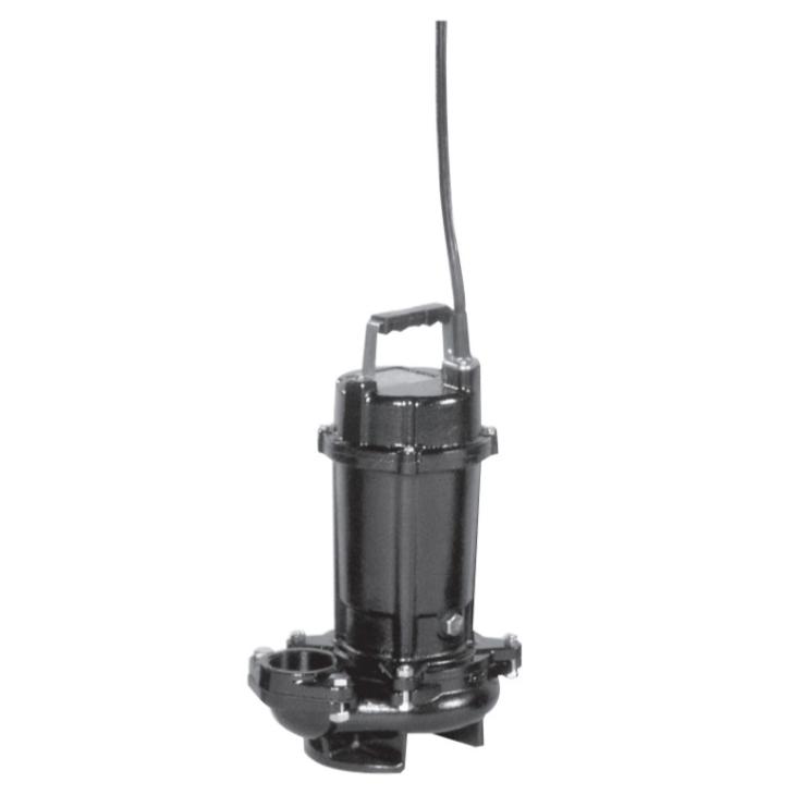 エバラ/荏原【80DVS62.2】雑排水用セミボルテックス水中ポンプ DVS型 非自動型 三相 60Hz