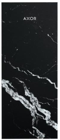 ハンスグローエ【47913000】(200) マーブル・ネロ アクサーマイエディション プレート