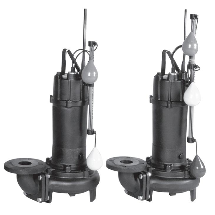 エバラ/荏原【80DLA62.2+80DLJ62.2】汚水・汚物用水中ポンプ DLA+DLJ型セット 三相 60Hz