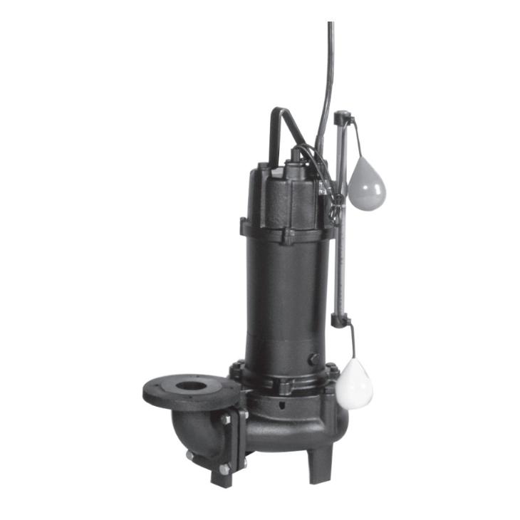 エバラ/荏原【100DVA63.7A】汚水用ボルテックス水中ポンプ DVA型 自動型 三相 60Hz