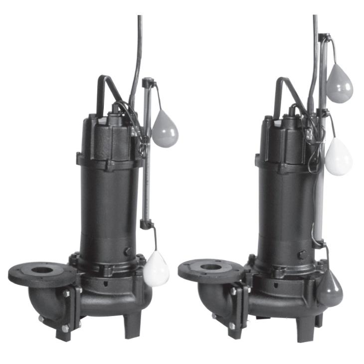 エバラ/荏原【80DVA62.2A+80DVJ62.2A】汚水用ボルテックス水中ポンプ DVA型+DVJ型セット 三相 60Hz