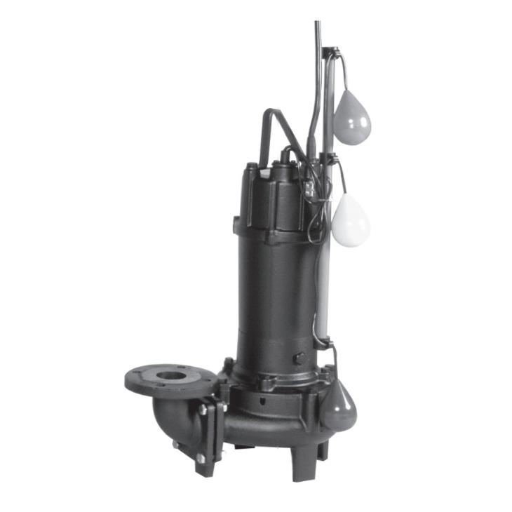 エバラ/荏原【80DVJ61.5A】汚水用ボルテックス水中ポンプ DVJ型 自動交互内蔵型 三相 60Hz