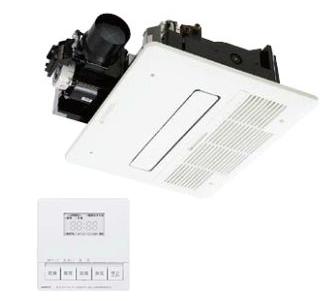 『カード対応OK!』ノーリツ 浴室暖房乾燥機【BDV-4104AUKNC-J1-BL】1室24時間換気タイプ