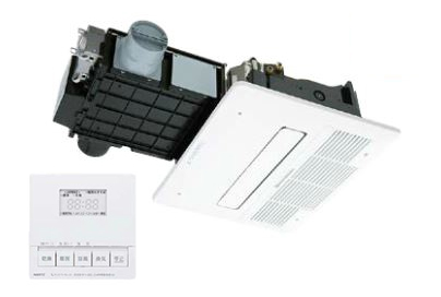 ###ノーリツ 浴室暖房乾燥機【BDV-4104AUKNC-J2-BL】2室24時間換気タイプ 受注生産