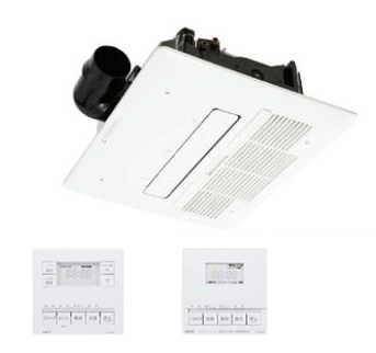 『カード対応OK!』ノーリツ 浴室暖房乾燥機【BDV-M4104AUKNT-BL】1室ミスト機能付(旧品番BDV-M4103AUKNT-BL)