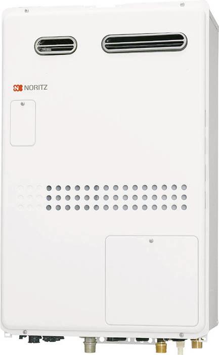 ###♪ノーリツ【GTH-1644AWXD-1 BL】都市ガス(12A/13A) ガス温水暖房付ふろ給湯器 設置フリー型 屋外壁掛形(PS標準設置形) フルオート 16号 2温度 外付