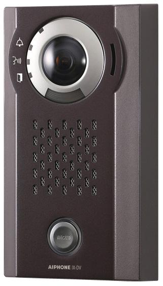 ###βアイホン【IX-DV】カメラ付ドアホン端末 露出型 SXVGA対応 大音量対応 夜間照明LED付 IPネットワーク対応インターホンIXシステム 受注生産約2ヶ月