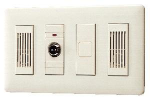 βアイホン【NB-NJ】壁埋込型子機 メタルコンセント付 呼出確認表示灯付