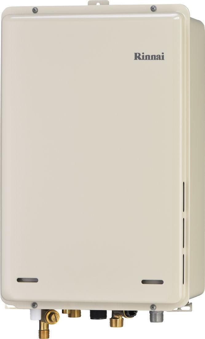 ###リンナイ ガス給湯器【RUJ-A1610B】高温水供給式 PS扉内後方排気型 ユッコハイフロー 16号 (旧品番 RUJ-V1611B(A))
