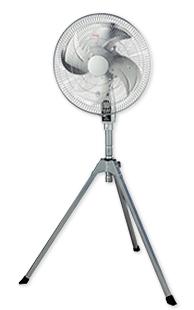 ###ωナカトミ【CF-45S】45cmアルミハイスタンド扇 全閉式工場扇