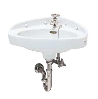 Ю####ジャニス/Janis【L810+NL1+NL2Y+NL31P+NT7A】Pトラップ壁排水セット 隅付大形手洗器 受注生産約6週