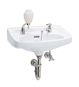 Ю####ジャニス/Janis【L161N+NL1+NL2Y+NL3P+NT31#+NT2+NT2B】Pトラップ壁排水セット 小形洗面器