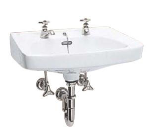 Ю####ジャニス/Janis【L275N+NL1+NL1H+NL2Y+NL3P+NT2+NT2B】Pトラップ壁排水セット 中形洗面器