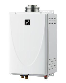 ###♪パーパス ガス給湯器【PG-240F】屋内壁掛形 24号 エコジョーズ FF式 業務用給湯器 小・中規模施設用