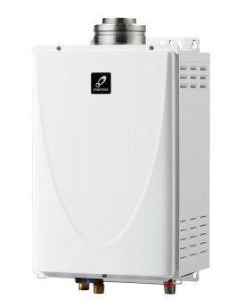 ☆☆PG 240F ###♪パーパス ガス給湯器【PG-240F】屋内壁掛形 24号 エコジョーズ FF式 業務用給湯器 小・中規模施設用