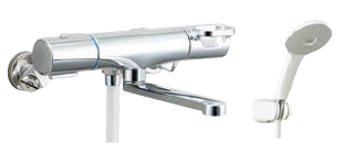 ☆☆BF WM145TNSJH 直送商品 INAX 選択 LIXIL BF-WM145TNSJH エコアクアスプレーシャワー 寒冷地 サーモスタット付シャワーバス水栓 クロマーレS 吐水口長さ170mm