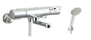 ▽INAX/LIXIL【BF-WM147TNSJMH】サーモスタット付シャワーバス水栓 クロマーレS エコアクアスイッチシャワー 寒冷地