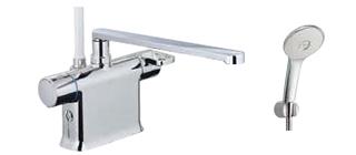 ▽INAX/LIXIL【BF-WM646TSL(300)】サーモスタット付シャワーバス水栓 吐水口長さ300mm エコアクアスプレーシャワー(めっき仕様) 一般地