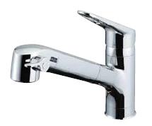 ▽INAX/LIXIL【JF-AB466SYXN(JW)】浄水器内蔵シングルレバー混合水栓 Sタイプ(エコハンドル) 寒冷地