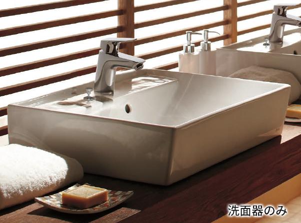 Ю####ジャニス/Janis【L553CFP】洗面器 スクエアライン