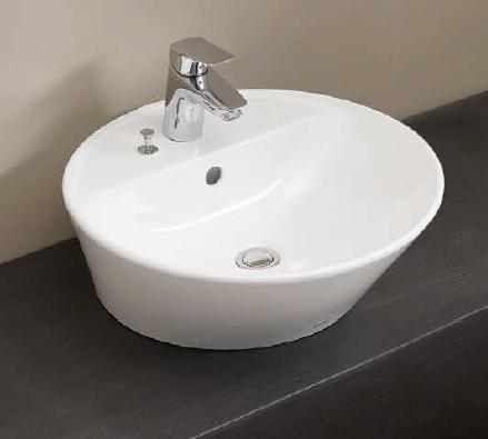 Ю####ジャニス/Janis【L455CFP+P69338】洗面器 金具セット サークルライン カウンター用