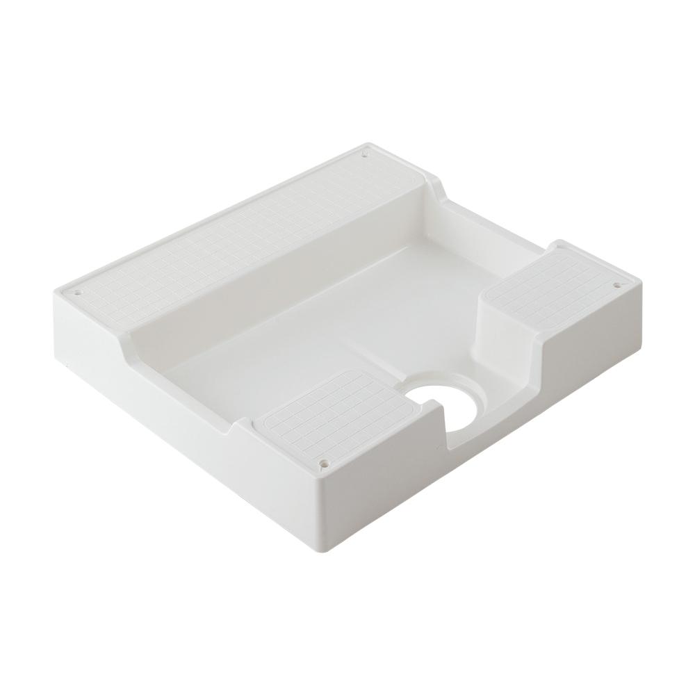 カクダイ【426-422-W】洗濯機用防水パン ホワイト